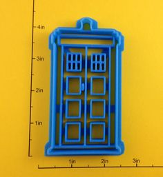 Doctor Who Tardis Cookie Cutter.