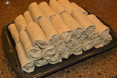 Frozen Breakfast Burritos - GREAT idea for getting out of the cereal rut :)