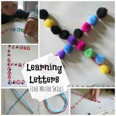 Learning the Shapes of Letters with Manipulatives - My Mundane and Miraculous Life