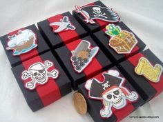 Pirate party boxes