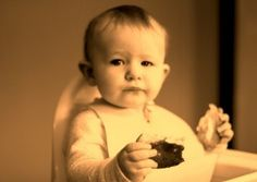 Three mealtime words to practice with your baby