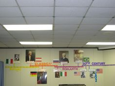If I ever have a classroom that is bigger than a closet... I want a biggg timeline that the class can add important people and events that we learn about on to.