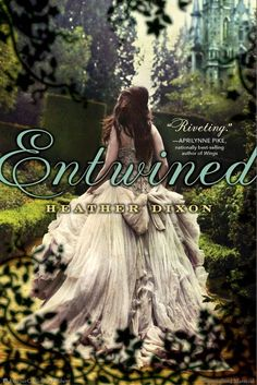 I started Entwined by Heather Dixon last night.  It's based on one of my favorite childhood fairytales, The Twelve Dancing Princesses!