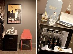 Hide your beer in a discreet mini fridge/end table. probably not to hard to DIY for less than $359 but still a good idea