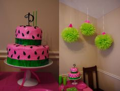 watermelon jello added to cake mix for flavor