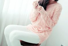 Love the long sweater and leggings