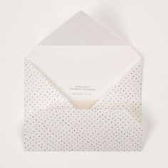 Mono Spot Napkin Envelope by Paperstock Stationery & Ephemera