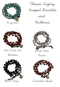 Classic Legacy wrap bracelets available at Sachi Memphis!  www.classiclegacy.com