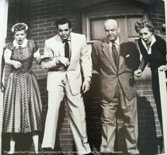 """Caption this hilarious moment from season 3 I Love Lucy episode """"Never Do Business with Friends."""""""