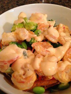 Shrimp Bowl with Bang Bang Sauce Recipe