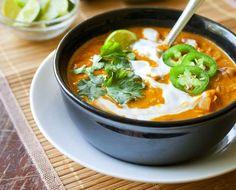 Red Lentil + Coconut Curry Soup