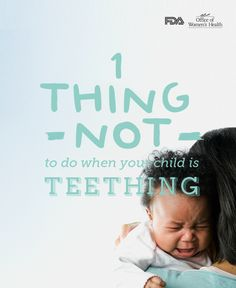 Children under 2 years old are at risk for a rare, but serious—and sometimes fatal—condition that can result from the use of teething-relief products containing benzocaine. Learn the danger signs.