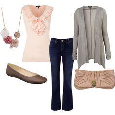 Budget Friendly, created by #rikkihjelden on #polyvore. #fashion #style Lauren Ralph Lauren