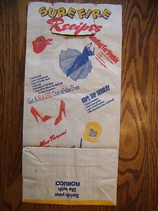Vintage 1970's Fiorucci NYC Paper Shopping Bag