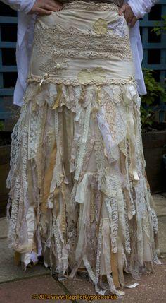 Elvina, commissioned skirt