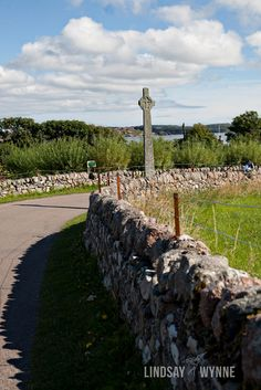 Isle of Iona, Scotland --- Celtic Cross