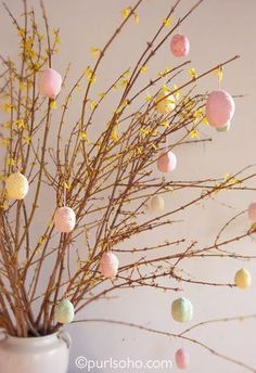 Patchwork Eggs from Purl Soho | Featured in Gooseberry Patch Fresh Picked Inspiration slideshow