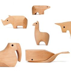 Animal boxes from The Future Perfect. Designed by Karl Zahn