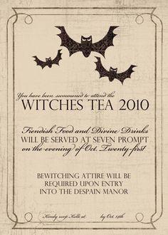 Cute Halloween Invitation
