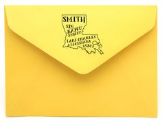 Personalized State Return Address Stamps