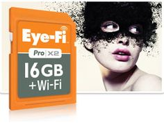 Pro X2 16GB memory card $99.99. Uploads images directly to your phone from your camera wirelessly.