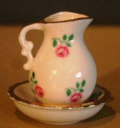 Mini Pitcher & Basin #vintage #antique
