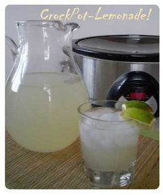 Crock Pot Lemonade
