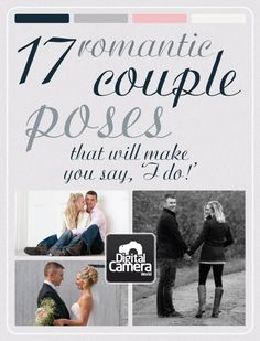 17 Romantic Couple Poses That Will Make You Say, 'I do!' idea, coupl pose, romantic couples, dream, 17 romant, engag, romant coupl, couples photography romantic, photographi