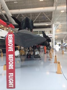 SR-71 at Evergreen Aircrafts & Space Museum, Oregon.