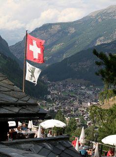 Saastal Valley, Switzerland