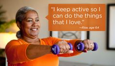 Go4Life campaign has a lot of great active aging resources.