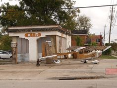 Houston Texas Old Historic Third Ward Near Downtown Houston Texas  vintage gas station 2010 Roads Building Signs 3rd Architecture Streets by mrchriscornwell, via Flickr