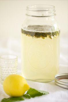 Lemon Balm Syrup