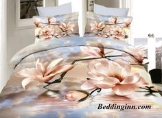 #magnolia #duvetcoverset Elegant Magnolia 4-Piece Duvet Cover Sets  Buy link-->http://goo.gl/8atgQH Live a better life,start with @beddinginn http://www.beddinginn.com/product/Elegant-Magnolia-Print-4-Piece-Duvet-Cover-Sets-11038509.html