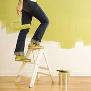 8 easy diy home renovations... reface/ refinish kitchen cabinets, buy new knobs for cabinetry, add track lighting...