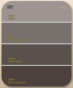 Brown paint colors on pinterest - What paint colors make brown ...