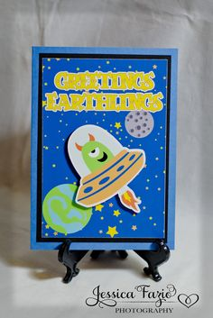 Alien Birthday Party Invite or idea for decorations