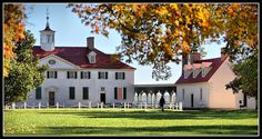 George Washington's Home - Mount Vernon, Virginia