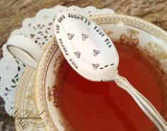 Bees Prefer You Use Sugar In Your Tea #Tea #Tea Time #Tea Party #Tea Gift