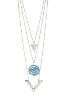 Skye Layered Necklace. Gorgeous.