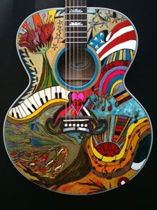 The Hear The Music Live guitar was auctioned on Ebay in November 2010.