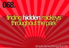 Love looking for hidden Mickeys!!! K~