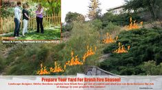 Shirley Bovshow, landscape design expert, explains how to prepare  your yard for brush fire season on the Home  Family show, Hallmark channel. See extended information, photos and video at EdenMakers.com
