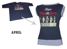 Adventures in Trashion: T-shirt reconstruction