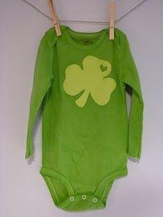 St. Patrick's #baby onesie
