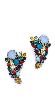 Modern Moghul Earrings - Erickson Beamon
