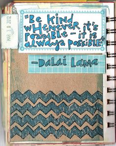 090 / 366 Art Journal Pages by coreymarie♥com, via Flickr