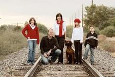 got to do this with our dog...love this idea for family photo