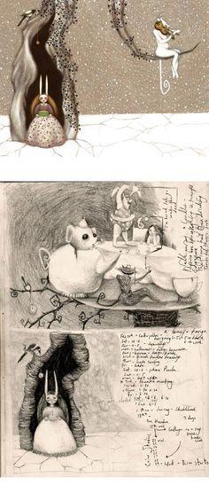 by Lisa Evans ( final illustration & original concept sketch )