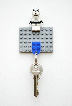 How to: Make a DIY Lego Key Holder